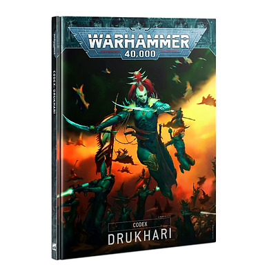 Einfach und sicher online bestellen: Warhammer 40.000 Codex Drukhari in Österreich kaufen.