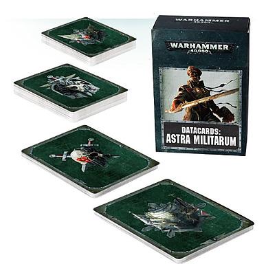 Einfach und sicher online bestellen: Warhammer 40.000 Datacards Astra Militarum in Österreich kaufen.