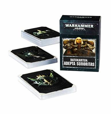 Einfach und sicher online bestellen: Warhammer 40.000 Datakarten Adeptus Sororitas in Österreich kaufen.