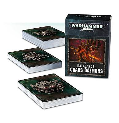 Einfach und sicher online bestellen: Warhammer 40.000 Datacards Chaos Daemons in Österreich kaufen.