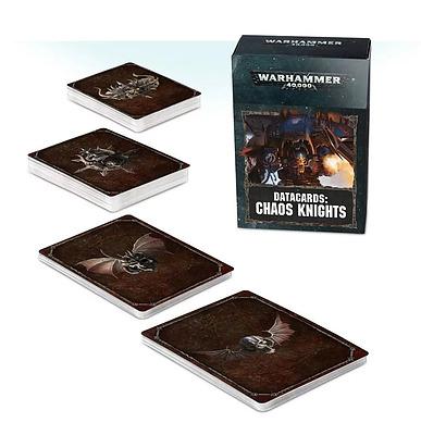Einfach und sicher online bestellen: Warhammer 40.000 Chaos Knights Datacards in Österreich kaufen.