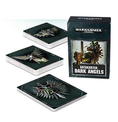 Einfach und sicher online bestellen: Warhammer 40.000 Datacards Dark Angels in Österreich kaufen.