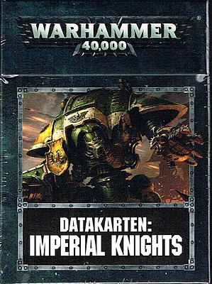Einfach und sicher online bestellen: Warhammer 40.000 Imperial Knights Datakarten in Österreich kaufen.