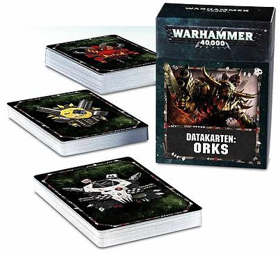 Einfach und sicher online bestellen: Warhammer 40.000 Datakarten Orks in Österreich kaufen.