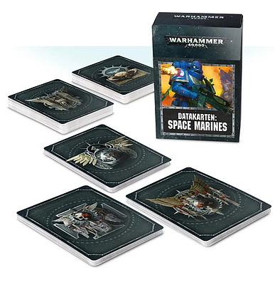 Einfach und sicher online bestellen: Warhammer 40.000 Datacards Space Marines in Österreich kaufen.