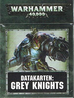 Einfach und sicher online bestellen: Warhammer 40.000: Datacards: Grey Knights in Österreich kaufen.