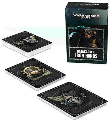 Einfach und sicher online bestellen: Warhammer 40.000: Datacards: Iron Hands in Österreich kaufen.