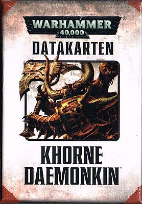 Einfach und sicher online bestellen: Warhammer 40.000: Datacards: Khorne Daemonkin in Österreich kaufen.