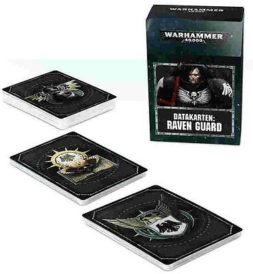 Einfach und sicher online bestellen: Warhammer 40.000: Datacards: Raven Guard in Österreich kaufen.