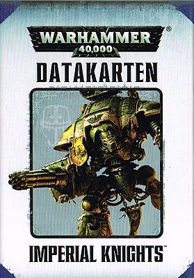 Einfach und sicher online bestellen: Warhammer 40.000: Datacards Imperial Knights in Österreich kaufen.