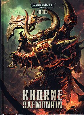 Einfach und sicher online bestellen: Warhammer 40.000 Codex Khorne Daemonkin in Österreich kaufen.