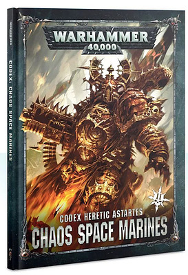 Einfach und sicher online bestellen: Warhammer 40.000 Codex Chaos Space Marines in Österreich kaufen.