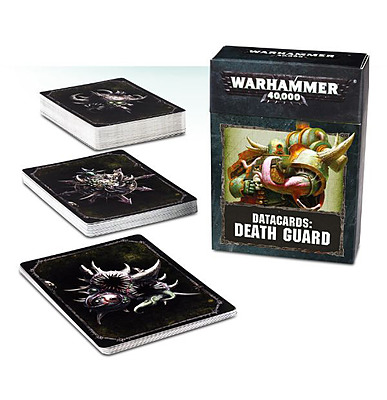 Einfach und sicher online bestellen: Warhammer 40.000: Datacards Death Guard in Österreich kaufen.