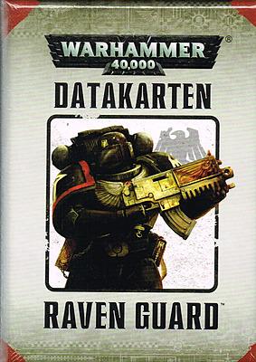 Einfach und sicher online bestellen: Warhammer 40.000: Datacards Raven Guard in Österreich kaufen.