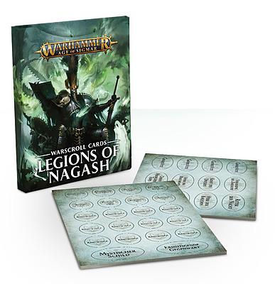 Einfach und sicher online bestellen: Warscroll Cards: Legions of Nagash in Österreich kaufen.