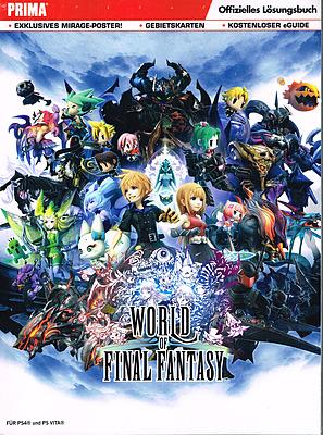Einfach und sicher online bestellen: World of Final Fantasy Lösungsbuch in Österreich kaufen.