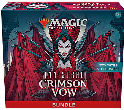 Einfach und sicher online bestellen: MTG Innistrad: Crimson Vow Bundle in Österreich kaufen.