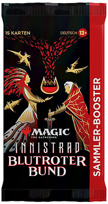 Einfach und sicher online bestellen: MTG Innistrad: Crimson Vow Collectors Booster in Österreich kaufen.