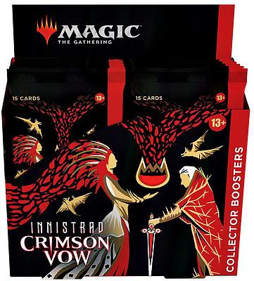 Einfach und sicher online bestellen: MTG Innistrad: Crimson Vow Collectors Booster Dis. in Österreich kaufen.