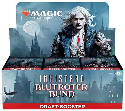 Einfach und sicher online bestellen: MTG Innistrad: Crimson Vow Draft Booster Display in Österreich kaufen.