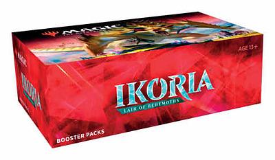 Einfach und sicher online bestellen: MTG Ikoria: Lair of Behemoths Booster Display in Österreich kaufen.