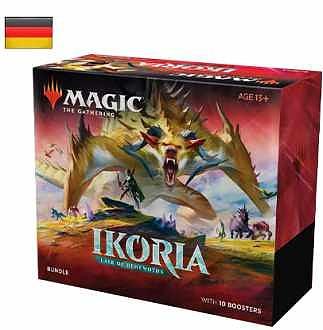 Einfach und sicher online bestellen: MTG Ikoria: Lair of Behemoths Bundle in Österreich kaufen.