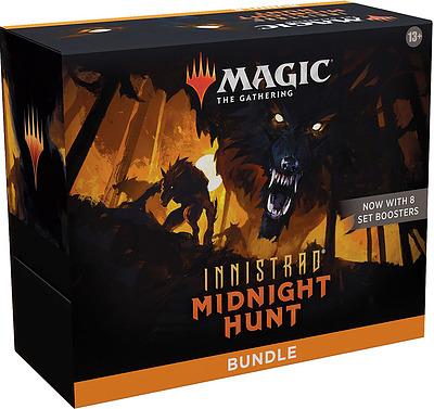 Einfach und sicher online bestellen: MTG Innistrad: Midnight Hunt Bundle in Österreich kaufen.