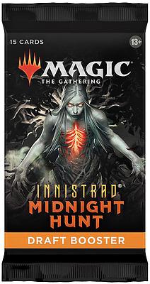 Einfach und sicher online bestellen: MTG Innistrad: Midnight Hunt Draft Booster in Österreich kaufen.