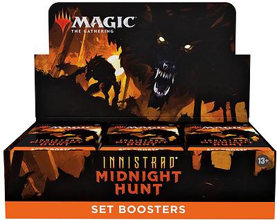 Einfach und sicher online bestellen: MTG Innistrad: Midnight Hunt Set Booster Dis in Österreich kaufen.