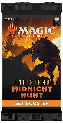 Einfach und sicher online bestellen: MTG Innistrad: Midnight Hunt Set Booster in Österreich kaufen.