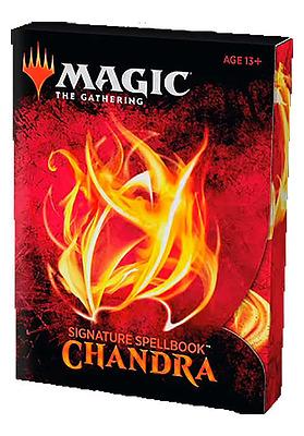 Einfach und sicher online bestellen: Magic the Gathering Signature Spellbook Chandra in Österreich kaufen.
