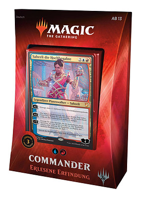 Einfach und sicher online bestellen: Magic the Gathering Commander 2019 Deck in Österreich kaufen.