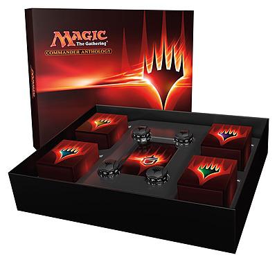 Einfach und sicher online bestellen: Magic the Gathering Commander Anthology in Österreich kaufen.