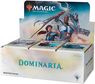 Einfach und sicher online bestellen: Magic the Gathering Dominaria Booster Display in Österreich kaufen.