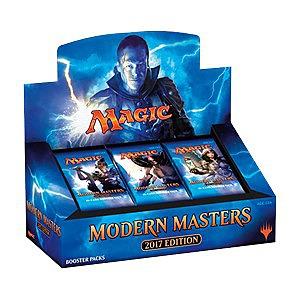 Einfach und sicher online bestellen: Magic the Gathering Modern Masters 2017 Display in Österreich kaufen.
