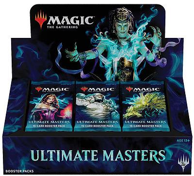 Einfach und sicher online bestellen: Magic the Gathering Ultimate Masters Display in Österreich kaufen.