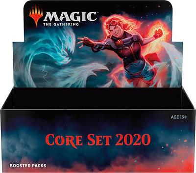Einfach und sicher online bestellen: Magic the Gathering Core Set 2020 Booster Display in Österreich kaufen.