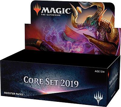 Einfach und sicher online bestellen: Magic the Gathering Core Set 2019 Booster Display in Österreich kaufen.