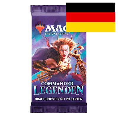 Einfach und sicher online bestellen: MTG: Commander Legends Draft Booster in Österreich kaufen.