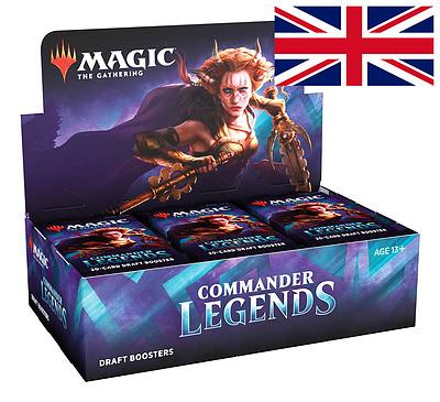 Einfach und sicher online bestellen: MTG: Commander Legends Draft Booster Display in Österreich kaufen.