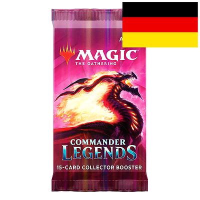 Einfach und sicher online bestellen: MTG: Commander Legends Collectors Booster in Österreich kaufen.