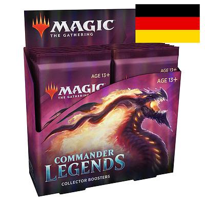 Einfach und sicher online bestellen: MTG: Commander Legends Collectors Booster Display in Österreich kaufen.
