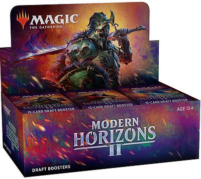 Einfach und sicher online bestellen: MTG: Modern Horizon 2 Draft Booster Display in Österreich kaufen.