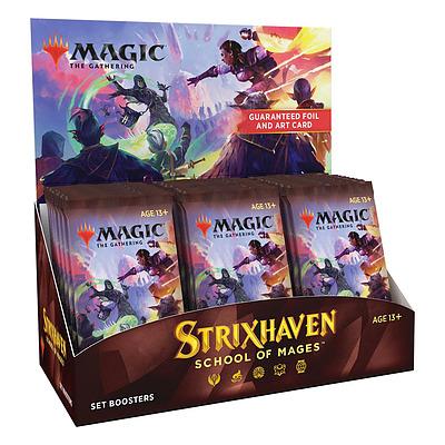 Einfach und sicher online bestellen: MTG Strixhaven: School of Mages Set-Booster Dis in Österreich kaufen.