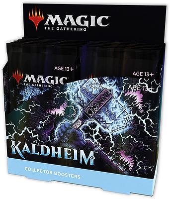 Einfach und sicher online bestellen: MTG Kaldheim Collector Booster Display in Österreich kaufen.