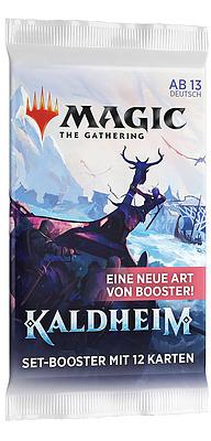 Einfach und sicher online bestellen: MTG Kaldheim Set Booster in Österreich kaufen.
