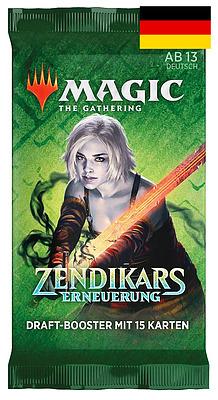 Einfach und sicher online bestellen: MTG Zendikar Rising Draft Booster in Österreich kaufen.