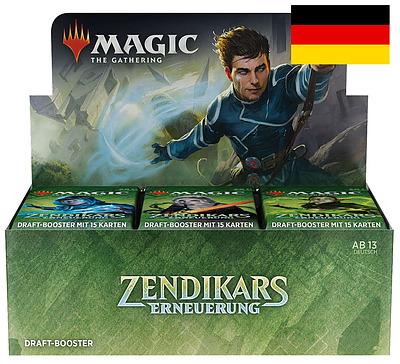 Einfach und sicher online bestellen: MTG Zendikar Rising Draft Booster Display in Österreich kaufen.