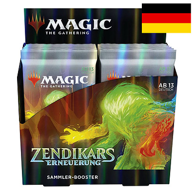 Einfach und sicher online bestellen: MTG Zendikar Rising Collectors Booster Display in Österreich kaufen.