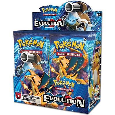 Einfach und sicher online bestellen: Pokemon Evolution Booster Display in Österreich kaufen.